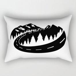 Cascade Camper Stealth Logo Rectangular Pillow