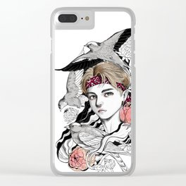 BTS V Clear iPhone Case