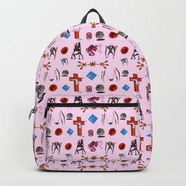Evangelion Angels Pattern Backpack