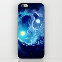 pocket fuel iPhone & iPod Skins featuring Fuel for Life by Cyril ROLANDO