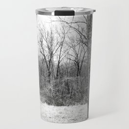 Tree (B&W) Travel Mug