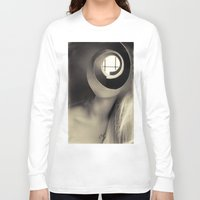window Long Sleeve T-shirts featuring Window by Cash Mattock