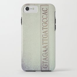 DNA strand, science love iPhone Case