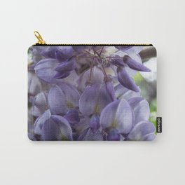 Wisteria sinensis in bloom Carry-All Pouch