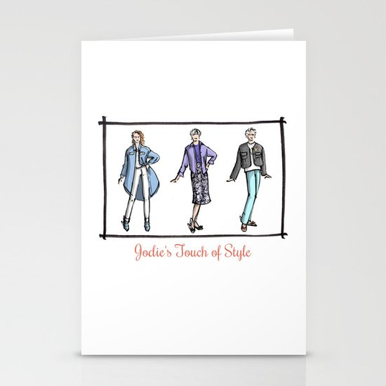 Jodie, Nancy, and Charlotte Stationery Cards