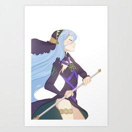 Azura: Nohr Art Print