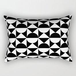 Monochrome Fantasy II Rectangular Pillow