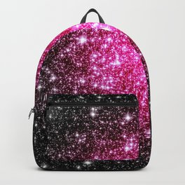 Galaxy Stars : Hot Pink Pop Of Color Backpack