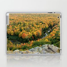 Autumn Colors at the Carp River Valley, Porcupine Mountains State Park, Upper Peninsula, MI Laptop & iPad Skin