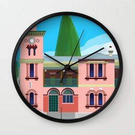 Kiama Post Office Historic Architecture 1 Wall Clock