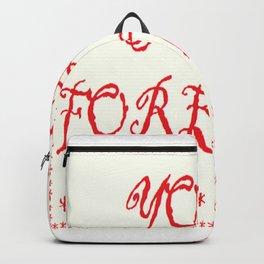 Yoga Forever Backpack