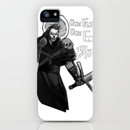 One Flesh, One End iPhone Case