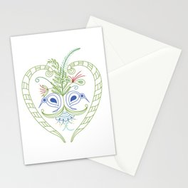Kiwi aroha Stationery Cards