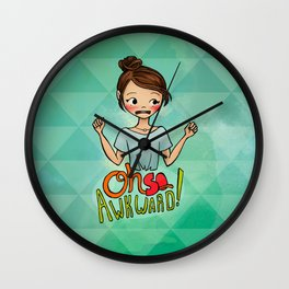 Oh So Awkward Wall Clock