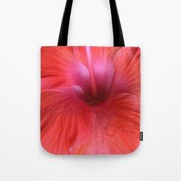 Hibiscus center Tote Bag
