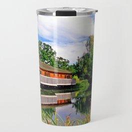 Lakeside Reflections Travel Mug