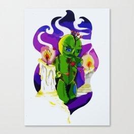 Voodoo Doll Canvas Print