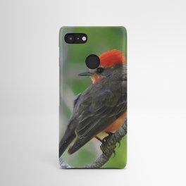 Vermilion Flycatcher Android Case