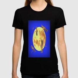 Golden Dragonflies Love Moon Light T-shirt
