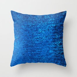 Blue Light II Throw Pillow