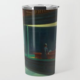 Edward Hopper's Nighthawks Travel Mug