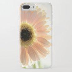 Salmon Gerbera iPhone 7 Plus Slim Case