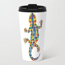 Vivid Barcelona City Lizard Travel Mug