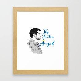 The Fallen Angel Framed Art Print