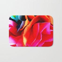 Paper Flower Bath Mat