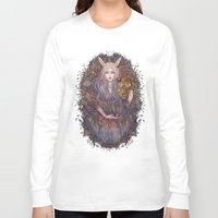 scales Long Sleeve T-shirts featuring scales by Miru