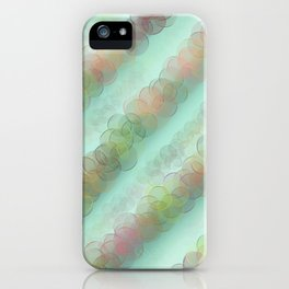 Bubble Curtain iPhone Case
