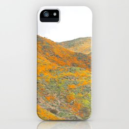 Southern California Poppy Superbloom iPhone Case