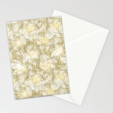 Gold Glam Abstract Stationery Cards