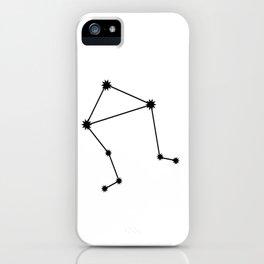 Libra Astrology Star Sign Minimal iPhone Case