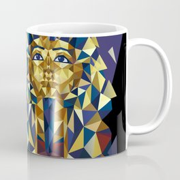 Golden Tutankhamun - Pharaoh's Mask Coffee Mug