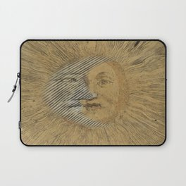 Sun and Moon Together Laptop Sleeve