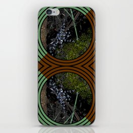 Nature Portals Pattern iPhone Skin