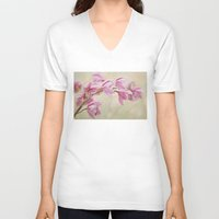 grace V-neck T-shirts featuring Grace by Kim Bajorek