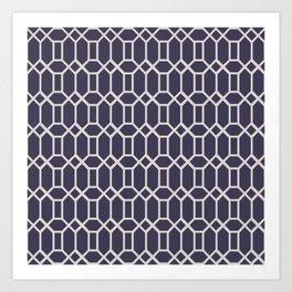Octagonal Tiles (Patterns Please) Art Print