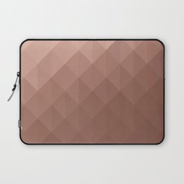 Rose Gold Geometry Laptop Sleeve