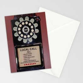 Public Telephone - case Stationery Cards