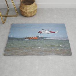 Rhyl Air Sea Rescue Rug