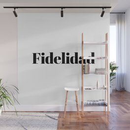 Fidelidad Wall Mural