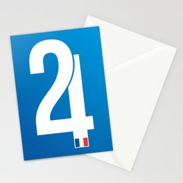 Stamp series - 24 Le mans Stationery Cards