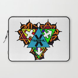 Gender Heart Chakra Laptop Sleeve
