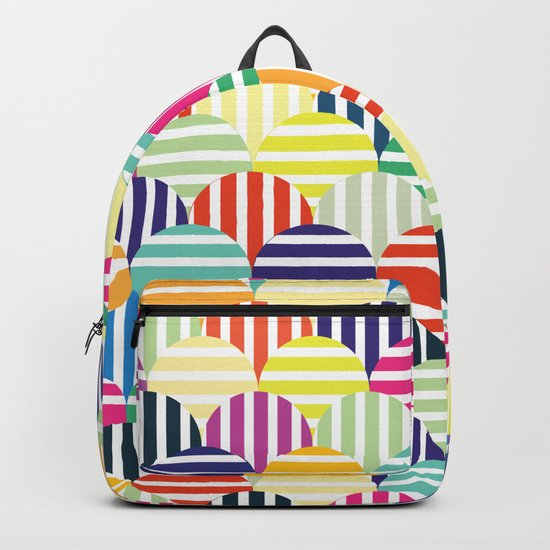 Colorful Circles IV Backpack