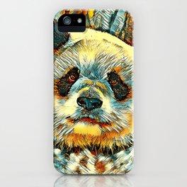 AnimalArt_Panda_20170901_by_JAMColorsSpecial iPhone Case