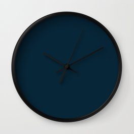 Dark night. Wall Clock