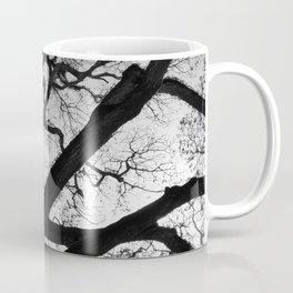 Black and White Tree of Life Coffee Mug