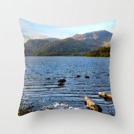 Autumn Ullswater Throw Pillow
